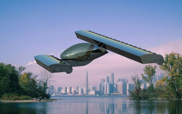 Volerian Flying Car concept