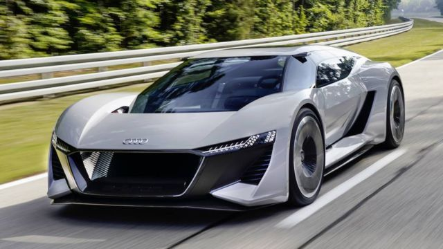 Audi PB18 E-Tron Electric supercar
