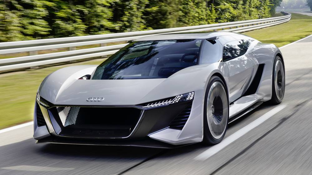 Audi Pb18 E Tron Electric Supercar Wordlesstech