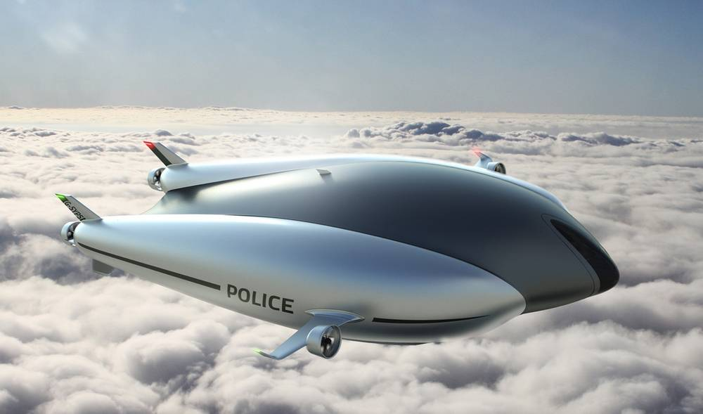 Avalon EOS Unmanned Airship