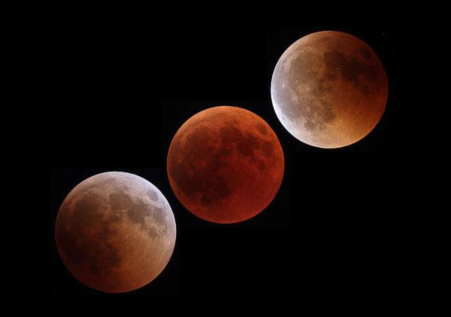Central Lunar Eclipse
