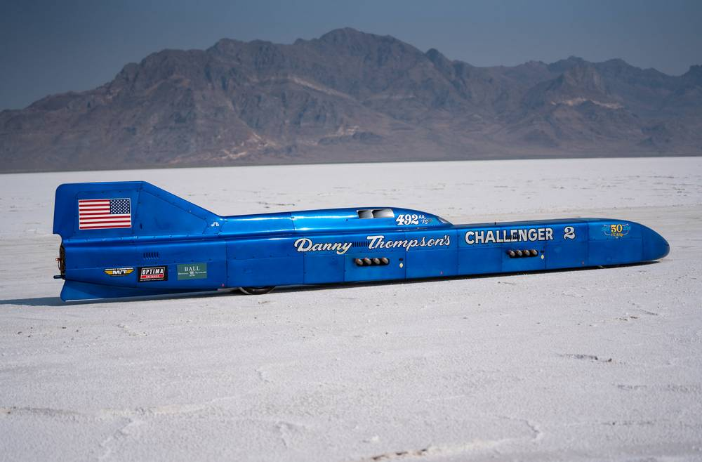 Challenger 2 world's Fastest Piston Powered Car