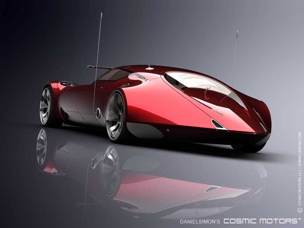Cosmic Motors Galaxion Supercar