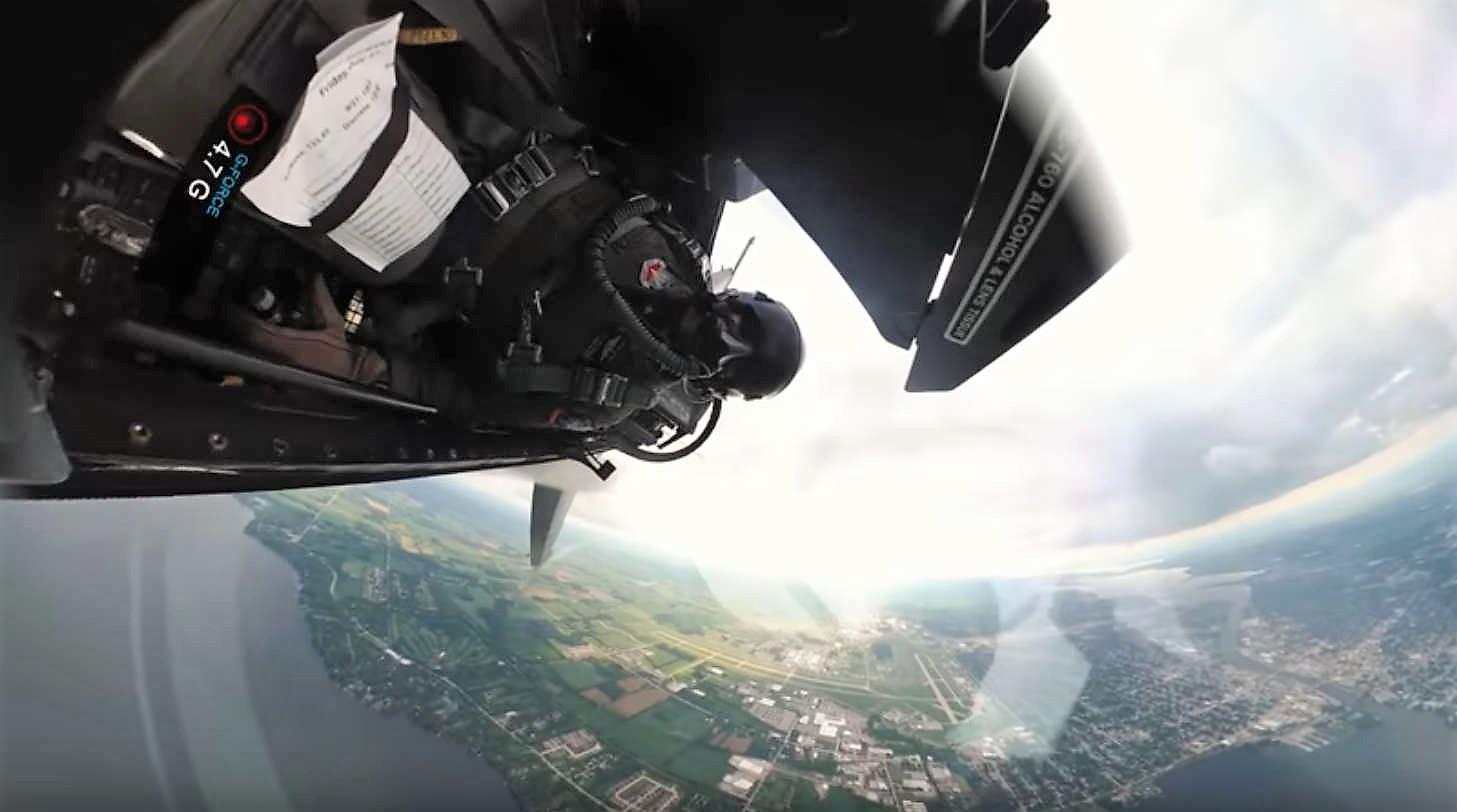F-16 Fighter Jet - Crazy Unique Cockpit Video