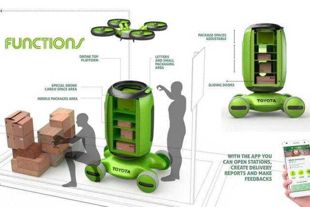 Gamaru Mailbox Drone concept (6)