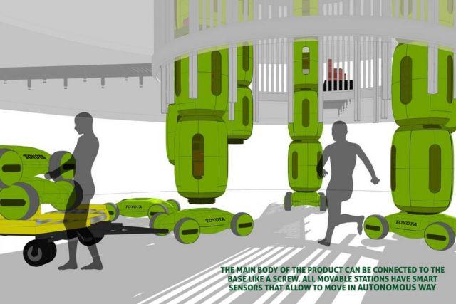 Gamaru Mailbox Drone concept (2)