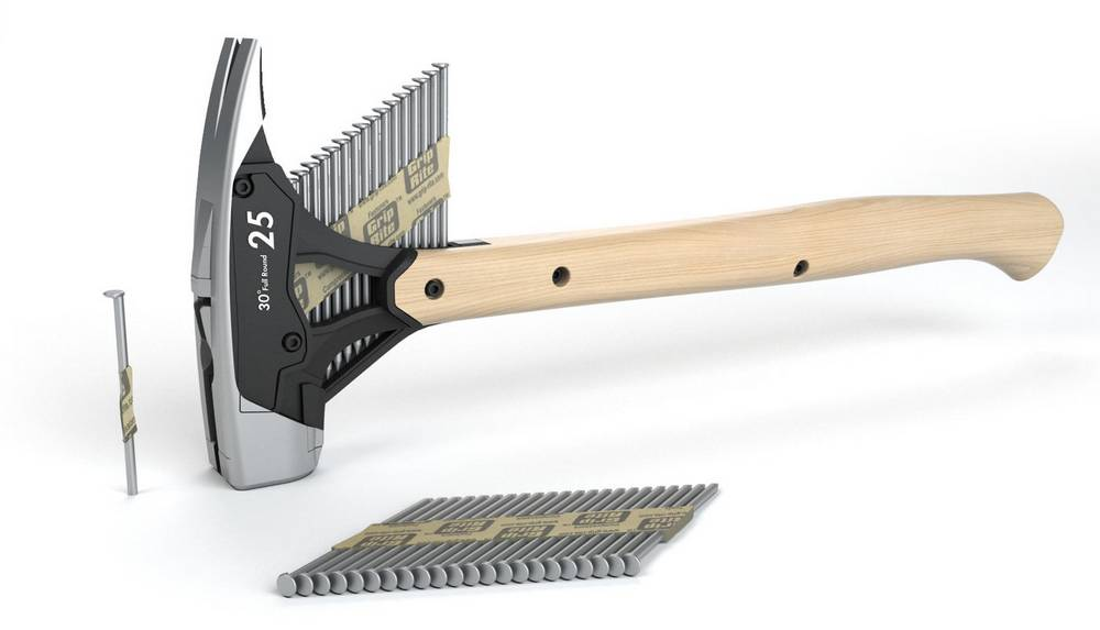 Hammer with Collated Nail Dispenser (5)