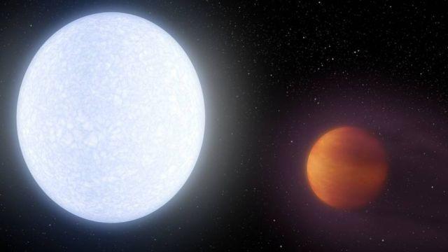 Exoplanet Kelt-9b