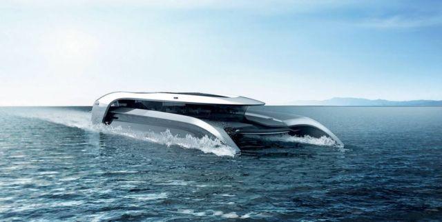 Hydropace Electric Hydrofoil Catamaran (4)