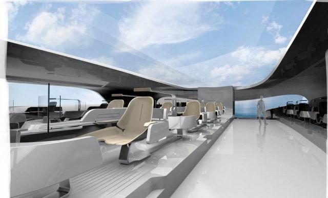 Hydropace Electric Hydrofoil Catamaran (2)
