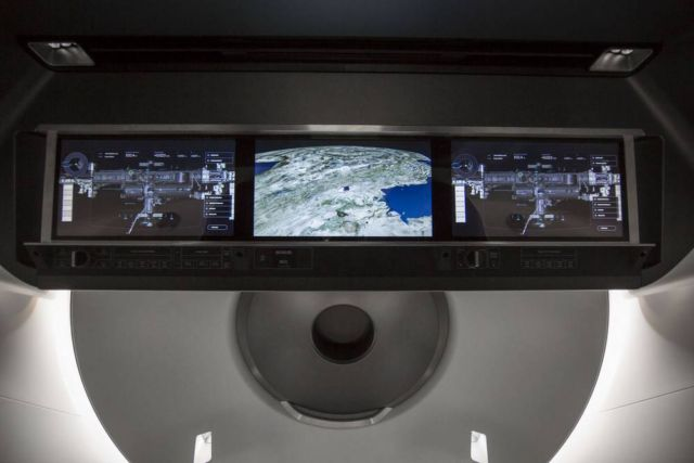 Inside the SpaceX's Crew Dragon Spacecraft (4)
