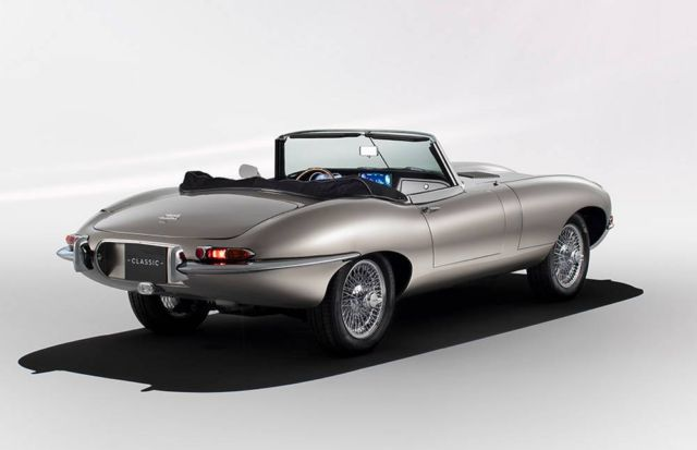 Jaguar will build All-Electric E-Types (5)