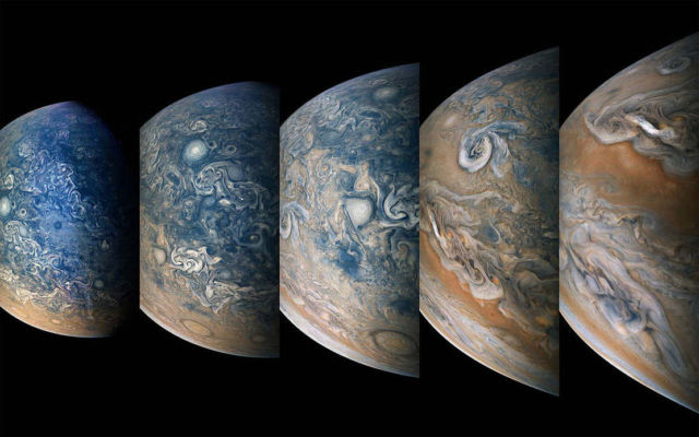 Jupiter's North Time-lapse Sequence
