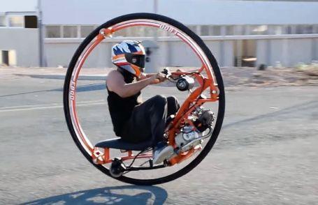 Making a Monowheel motorcycle
