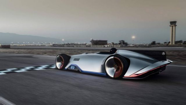 Mercedes Vision EQ Silver Arrow (2)