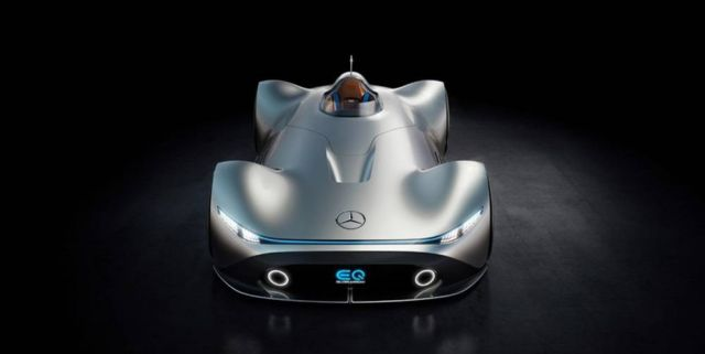 Mercedes Vision EQ Silver Arrow (9)