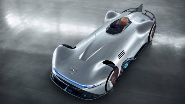 Mercedes Vision EQ Silver Arrow (8)