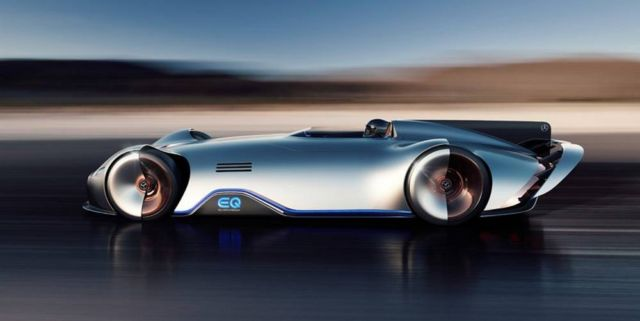 Mercedes Vision EQ Silver Arrow (5)