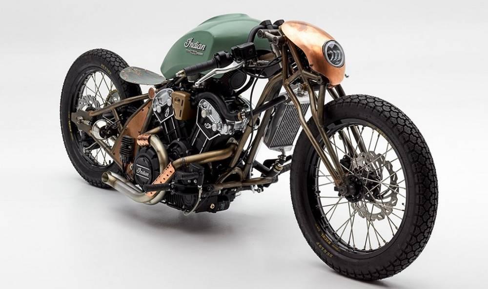 Alfredo Juarez's custom Indian motorcycle (7)