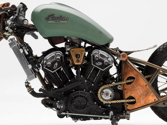Alfredo Juarez's custom Indian motorcycle (6)