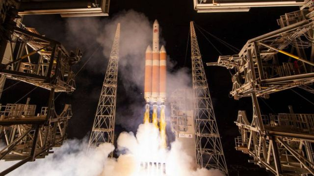 NASA Launches the Parker Solar Probe