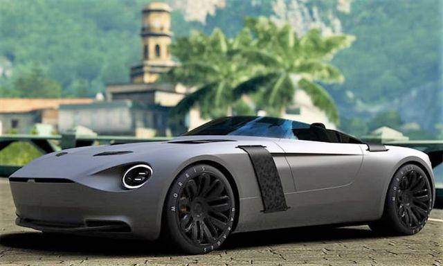 New MG concept car