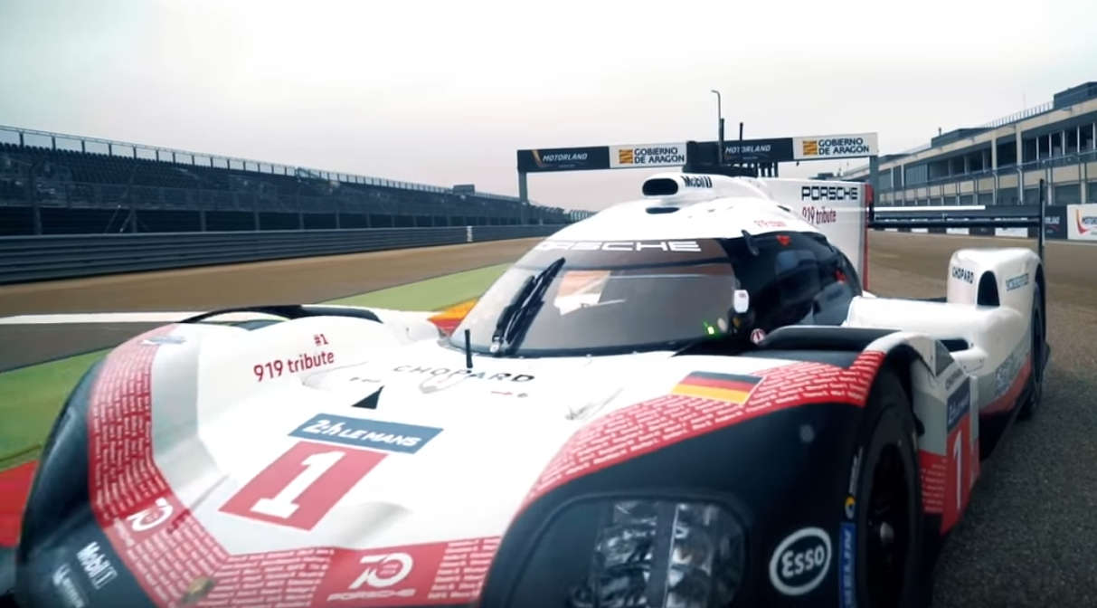 Porsche 919 Tribute on tour