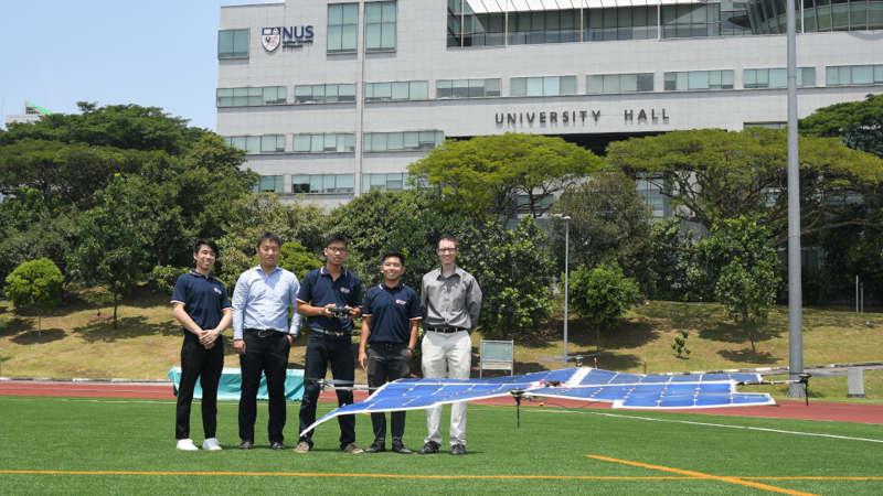 Solar-Powered Quadcopter Drone