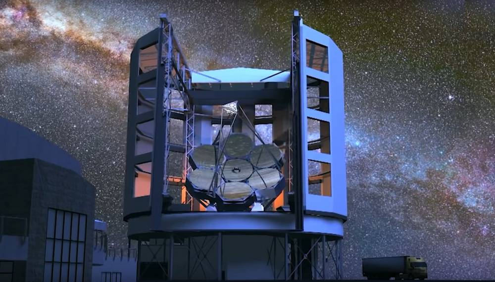 Soon this Telescope will show us the Edge of the Universe