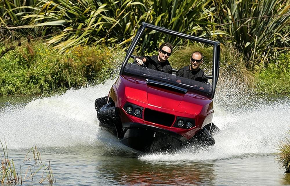 Terraquad High Speed Amphibian