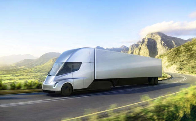"Tesla Semi Drove ""Across the Country Alone"""
