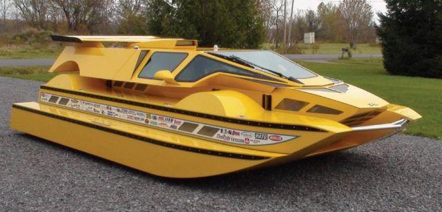 The Amphibious HydroCar (3)