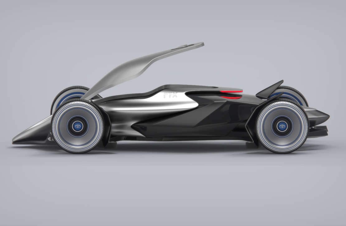 Toyota FT-X Race Car concept (10)