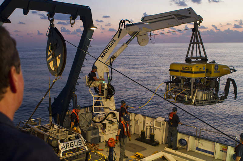 Underwater Robots to help NASA on Future Deep-Space Missions