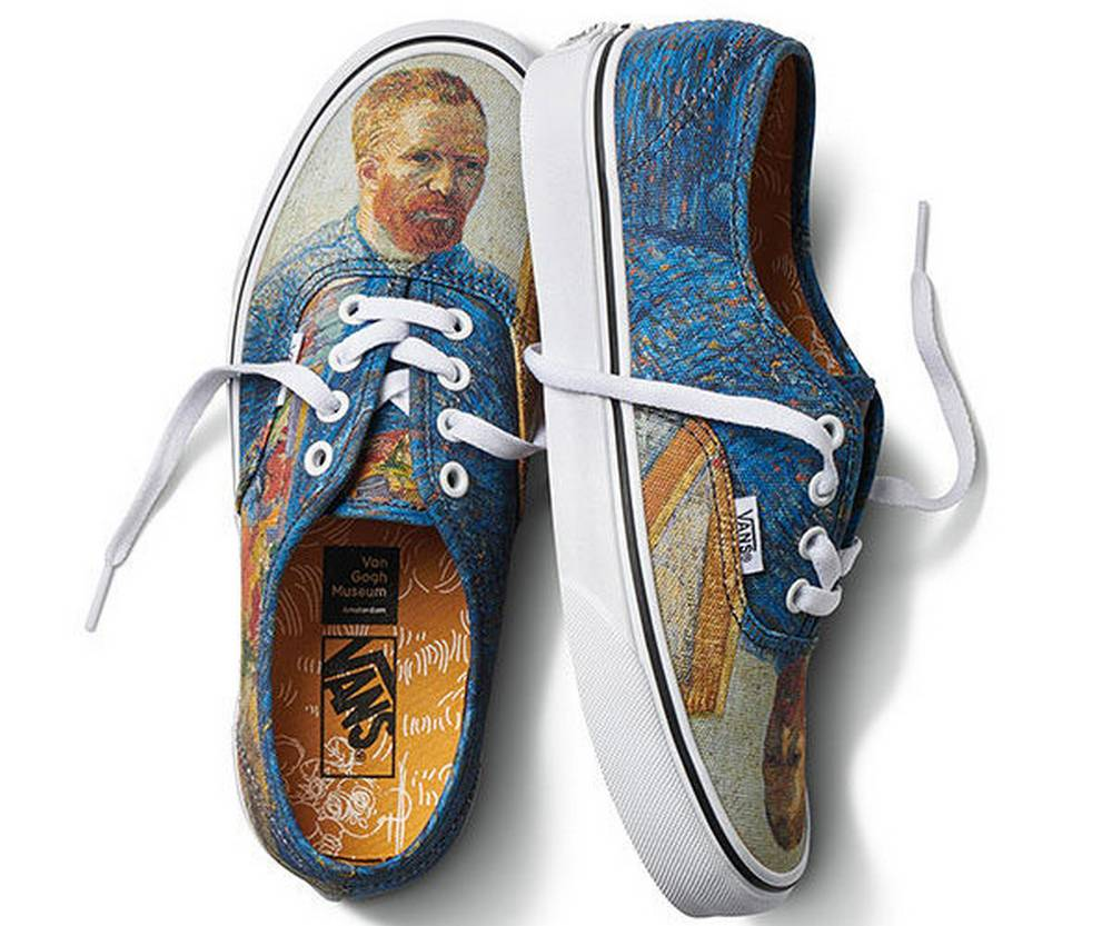 Van Gogh Vans collection
