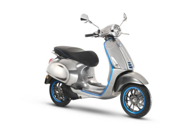 Vespa Elettrica Scooter Launches in October