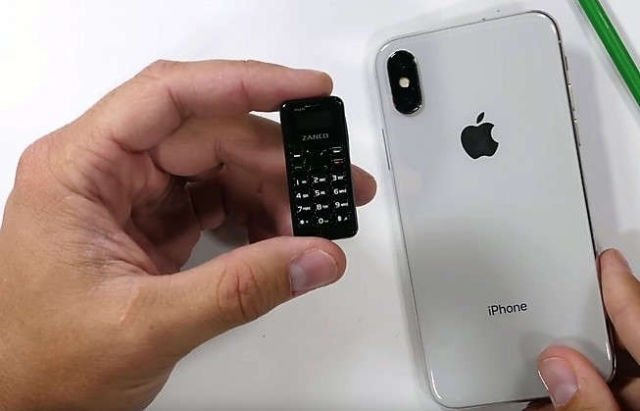 World's Smallest Cell Phone