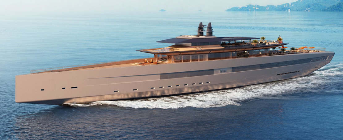 'Art of Life' 115m mega yacht (1)