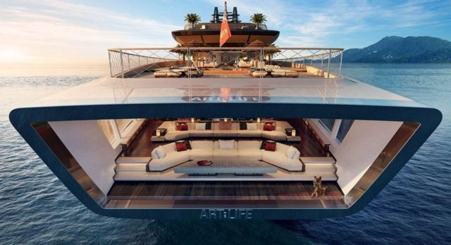 'Art of Life' 115m mega yacht (2)