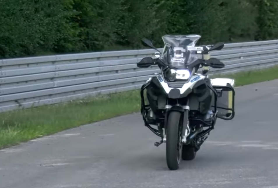 BMW Self-Driving Motorcycle