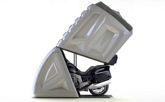 BikeBox 24 Motorcycle Garage