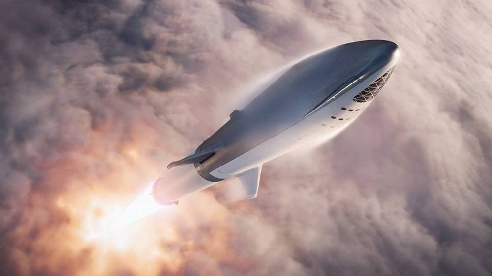 Elon Musk Tweeted new renders of the Big Falcon Rocket
