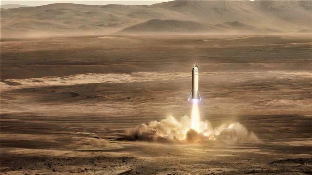 Elon Musk's vision on Mars Base