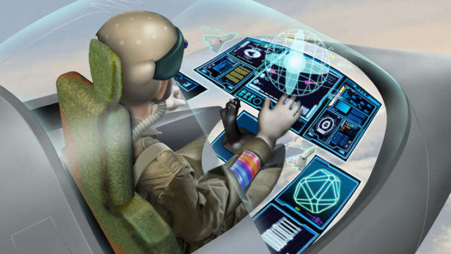 Eye Tracking technology to Control Fighter Jets
