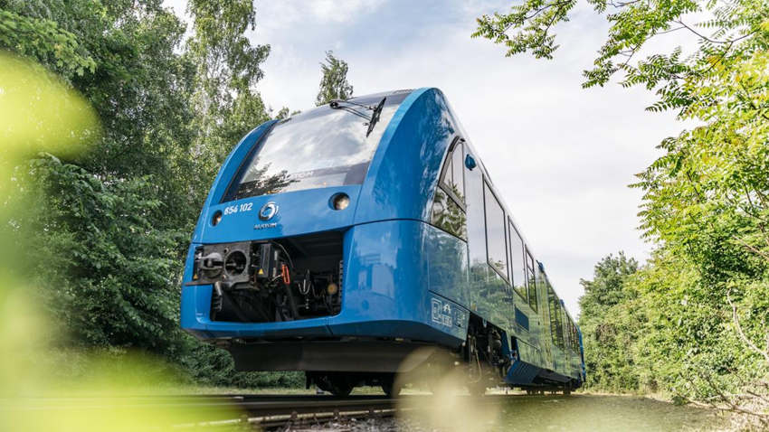 First Hydrogen Trains enter Passenger service