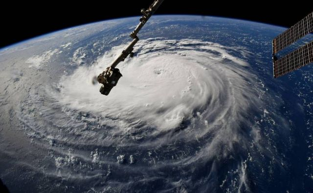 Hurricane Florence from the Space Station