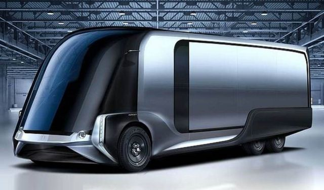 Hydrogen-powered Van can travel 500 miles