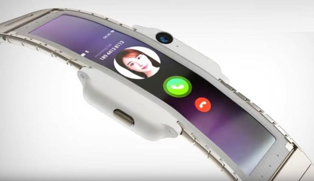 Is this the future of Wearable Smartphone