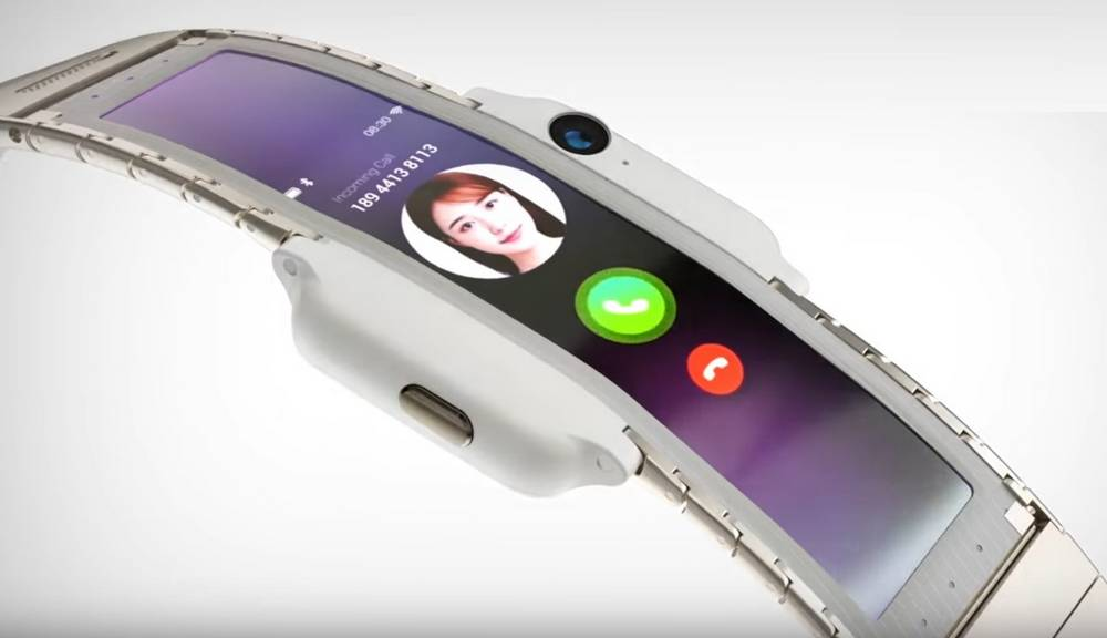 Is this the future of Wearable Smartphone?