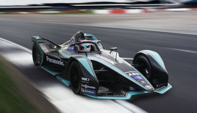 Jaguar I-TYPE 3 next-gen Formula E race car